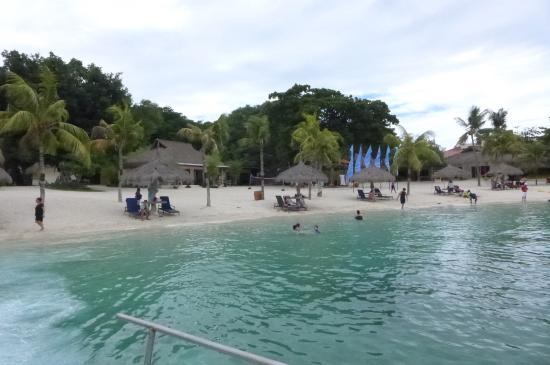 Beach Front Bluewater Maribago Picture Of