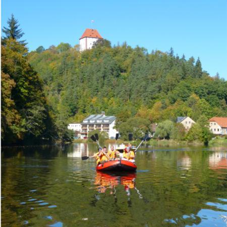 Ziegenruck, Germany: Bootstouren ab Ziegenrück