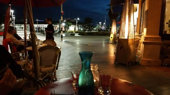 Devonport, Neuseeland: View of Auckland from the Esplanade Bar and Grill