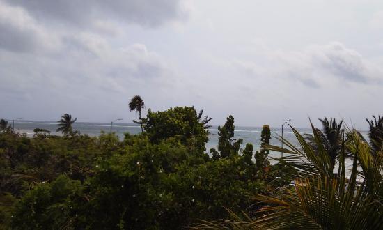 Hotel Los Arrecifes Costa Maya: Vista al mar