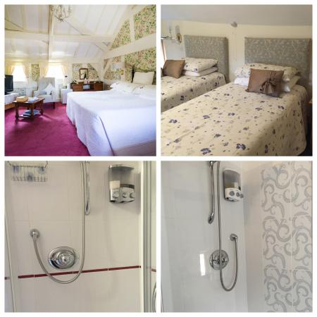 Pembridge, UK: Bedrooms and En-Suite Showers
