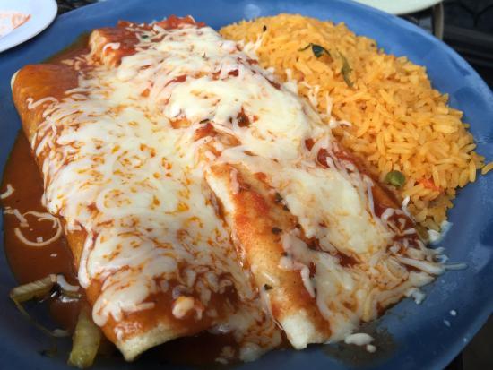 Plaza Mexico: Veggie Enchiladas