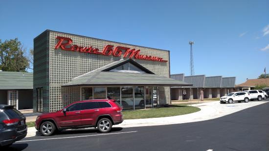 Oklahoma Route 66 Museum: Clinton Route 66 Museum