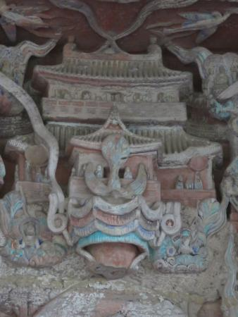Dazu County, China: Detail.