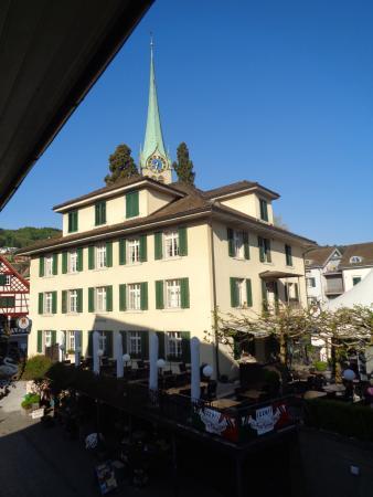 Schwan Hotel & Taverne: Blick aus Zi. 24