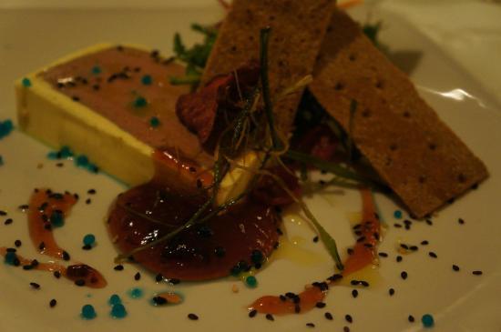 Patrick's Lounge, Restaurant & Steakhouse : Foie Gras