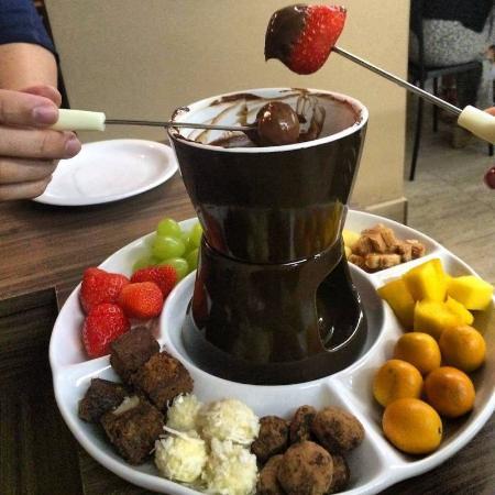Fondue carioca bras lia coment rios de restaurantes tripadvisor - Fondue de chocolate ...