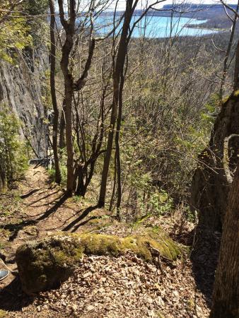 Cape Croker Indian Park : Jones Bluff Loop and Sydney Bay Heavenly place