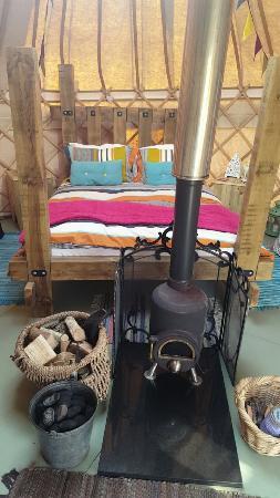 Dolanog, UK: The Secret Yurts