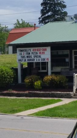 Grand Rapids, OH: New name. Now called Tomaselli's