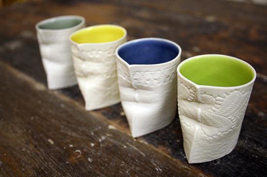 Louise Hall Ceramics at Coldstream Gallery