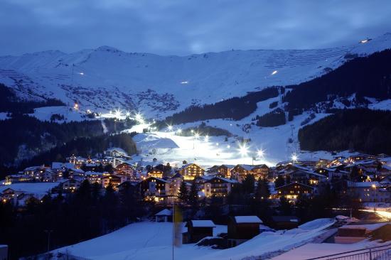 Serfaus, Austria: Nachtskilauf in Fiss