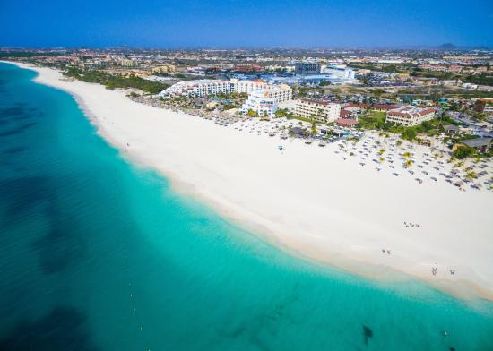 Bucuti & Tara Beach Resort Aruba: Aerial view