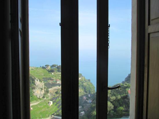 L'Antico Episcopio: Vista mare dalla finestra della camera