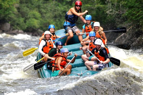 The Forks, Μέιν: Fun on the Kennebec