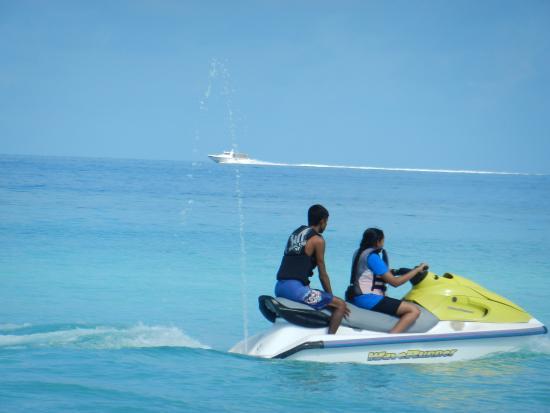Bilde fra Sørlige Male-atollen