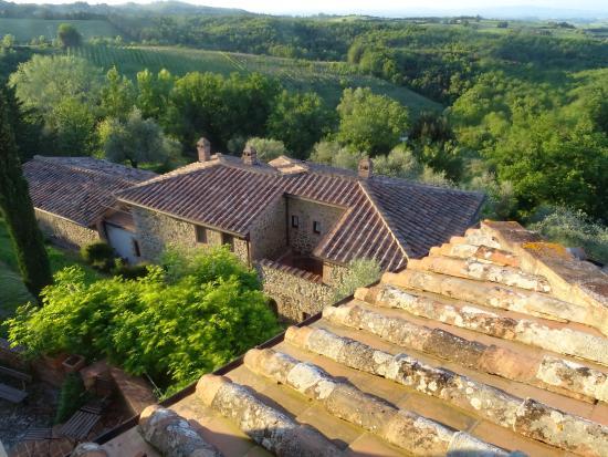 Agriturismo La Busca: Vue de la tour