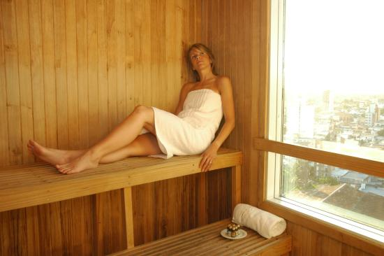 InterTower Hotel: Sauna Panorámico