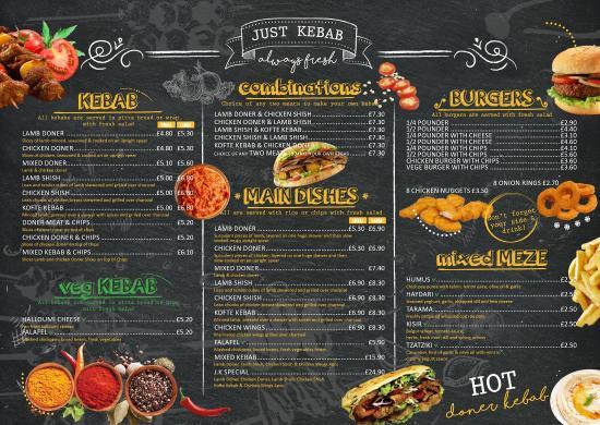 Just kebab leigh on sea omd men om restauranger for Divan kebab carte
