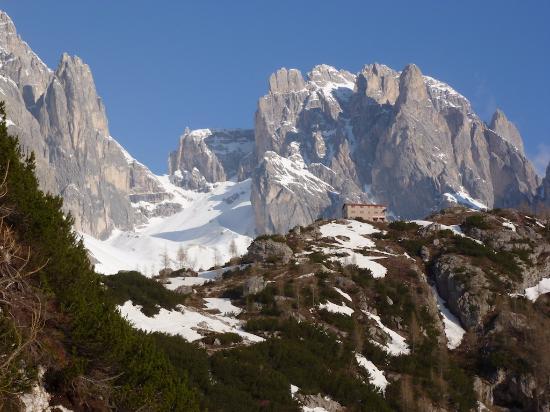 Padola, Italia: Rifugio Berti e Passo della Sentinella, Vallon Popera.