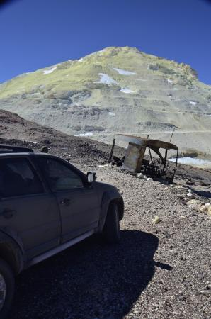Tolar Grande, الأرجنتين: Cerro estrella