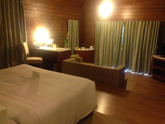 The Tamara Coorg: A view of the room