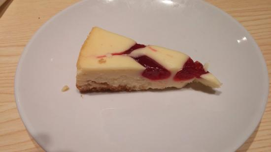 Northwood, IA: Delicious cheesecake for dessert!