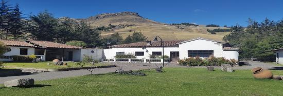 Tigua, Ecuador: Casa de hacienda