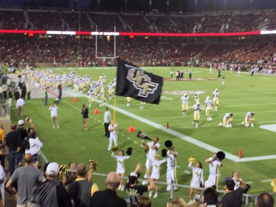 Πάλο Άλτο, Καλιφόρνια: Cheering on UCF vs Stanford - September 12, 2015