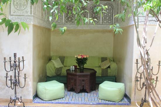 Riad Samsara: Petit salon
