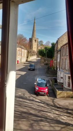 The Old Poets' Corner: All Saints Anglican Church/ Church St. from Wheatcroft Room window