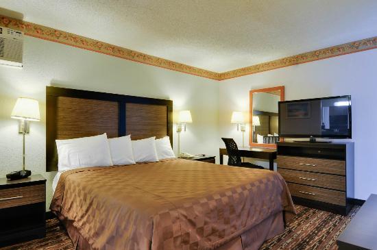 Vagabond Inn Sunnyvale : King Bed 5