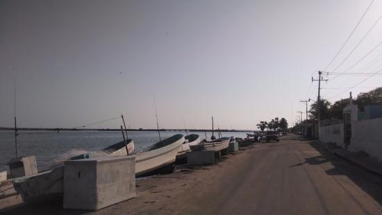 Sabancuy, Meksyk: Lanchas de Pescadores