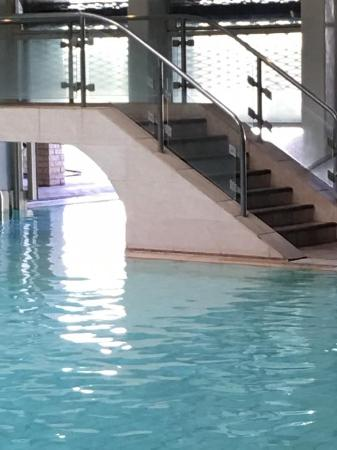 Indoor Outdoor pool at the Hydro - Picture of Warmbaths, A Forever ...
