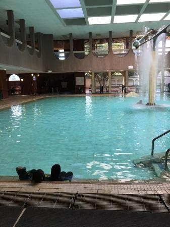 Warmbaths, A Forever Resort: Indoor Outdoor pool at the Hydro