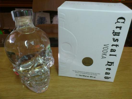 Portinatx, Spagna: Crystal Head Vodka