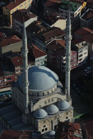 это с высоты смотровой на Istanbul Sapphire.