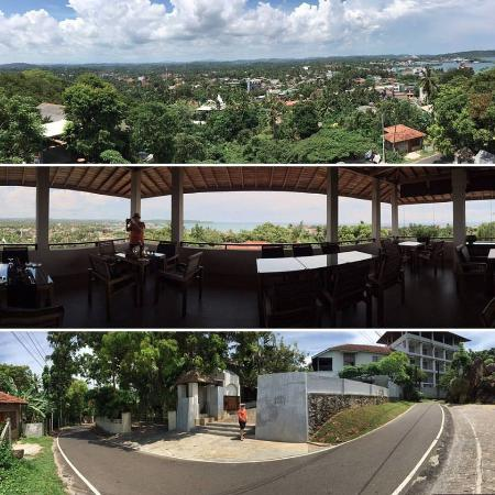 Ladyhill Restaurant : My photos do not do it complete justice. It is seriously the best view in Galle.