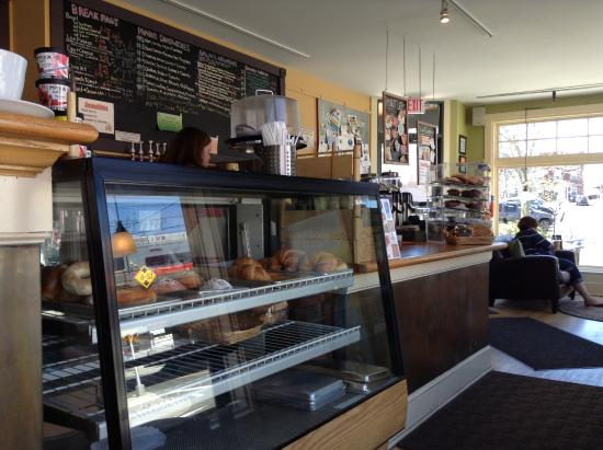 Service counter. - Picture of Cafe Atlantique, Milford - TripAdvisor