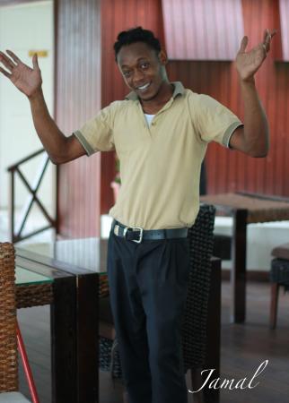 Holetown, Barbados: Great barman