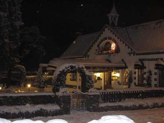 La maison du cocher sous la neige picture of la maison - La maison du kilim ...
