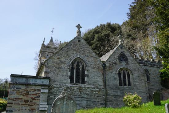 Little Petherick, UK: St Petroc Minor