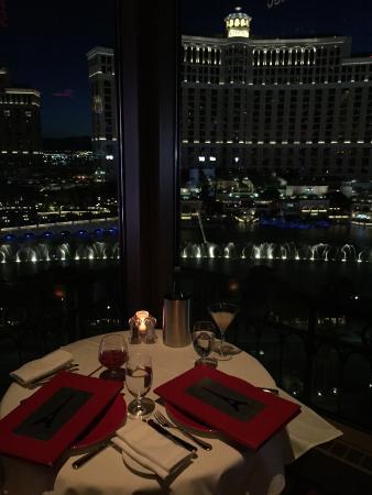 Eiffel Tower Restaurant At Paris Las Vegas: Table 56 At The Eiffel Tower  Restaurant