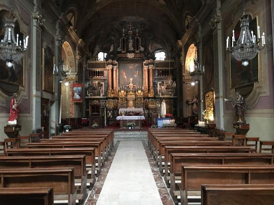 Bra, Italia: Interior of the church
