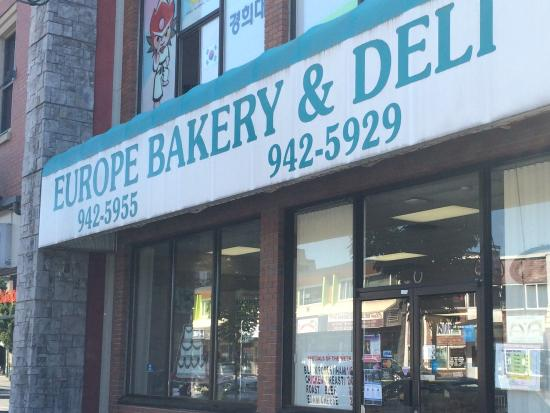 Europe Bakery and Delicatessen : Give it a try!