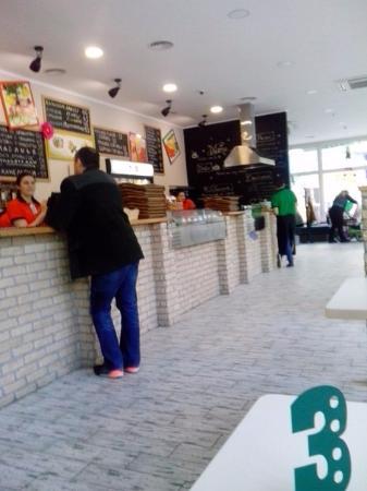 Celentano Pizza: Челентано на пр. Ленина