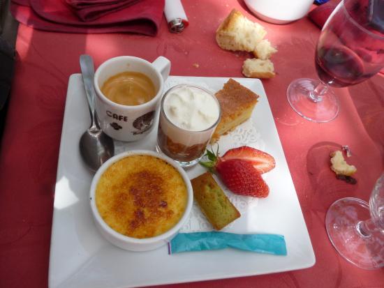 Arcangues, Francia: The café Gourmand