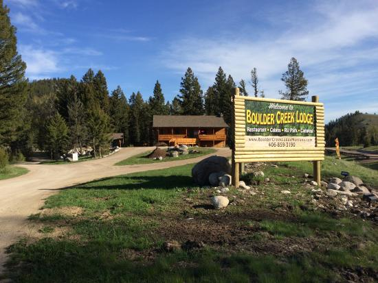 Boulder Creek Lodge Montana