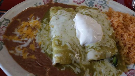 Ixtapa Mexican Restaurant: Spinach Enchiladas