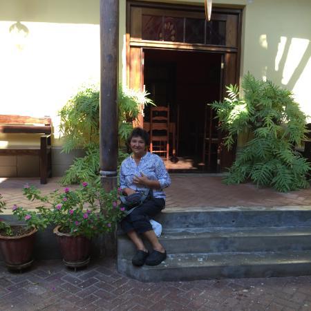 Hosteria San Roque: Entrada
